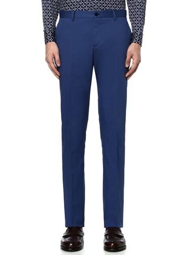 Etro Kumaş Pantolon Mavi
